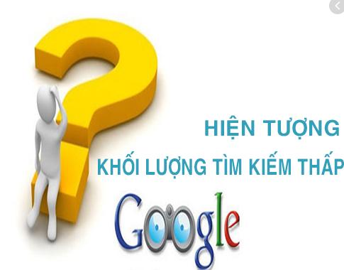Có rất nhiều lý do khác nhau dẫn đến website có lượng tìm kiếm thấp