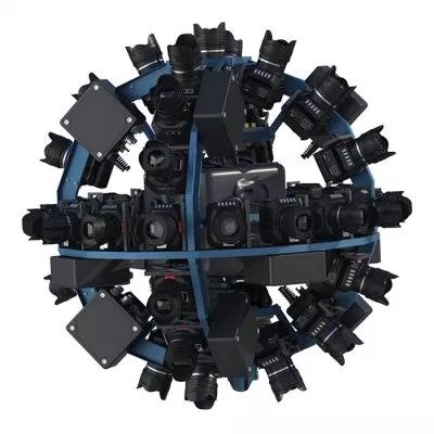 Siêu phẩm VR Eye Camera kết hợp từ 42 ống kính khác nhau