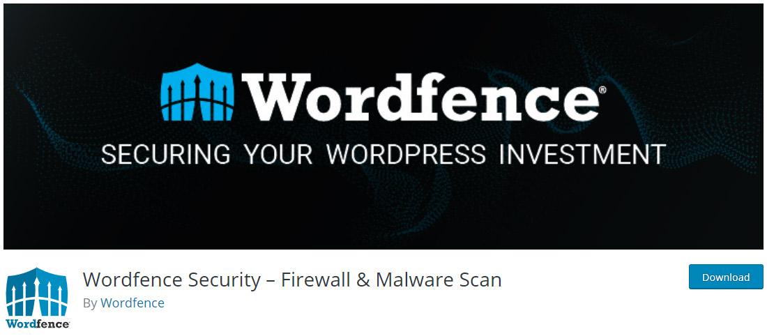 Plugin bảo mật Wordfence trên WordPress.org