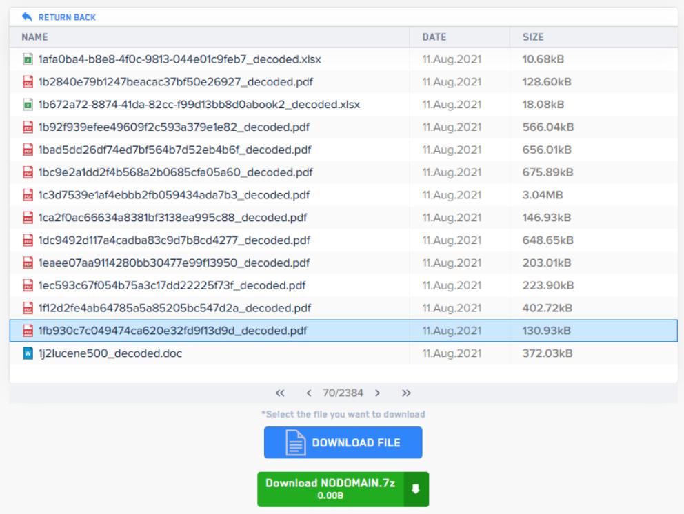 LockBit shares files