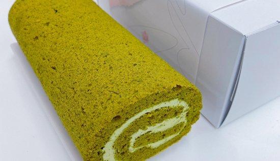 ヘルシー!美味しい!マルチュウスマイルの米粉のロールケーキ!