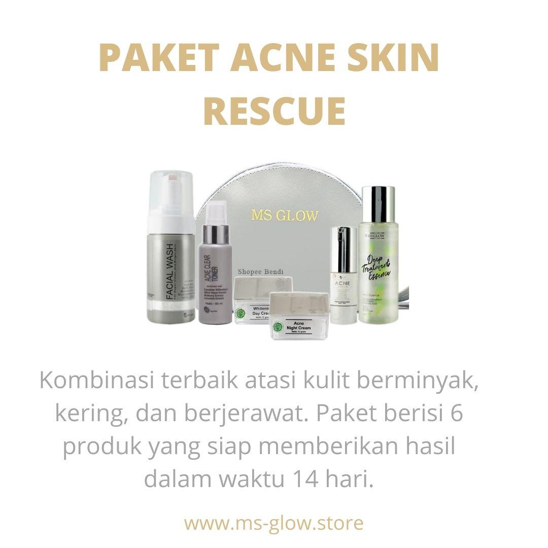 MS Glow Paket Acne Skin Rescue