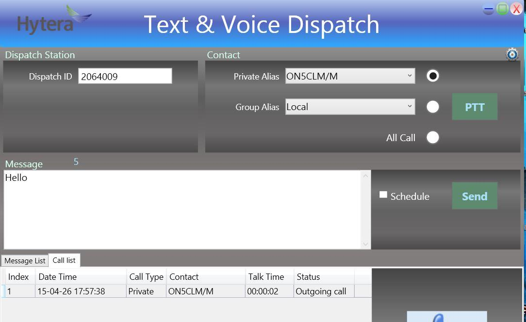 1 3 Text & Voice Dispatch - HAM-DMR RST