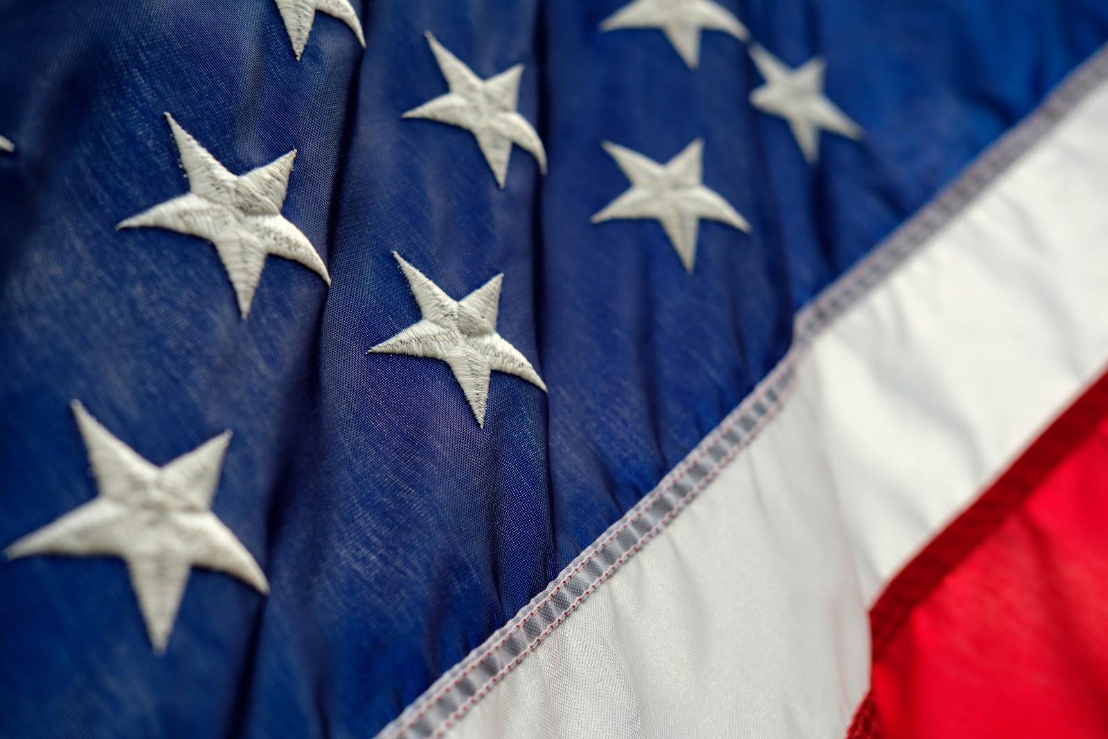 The US flag