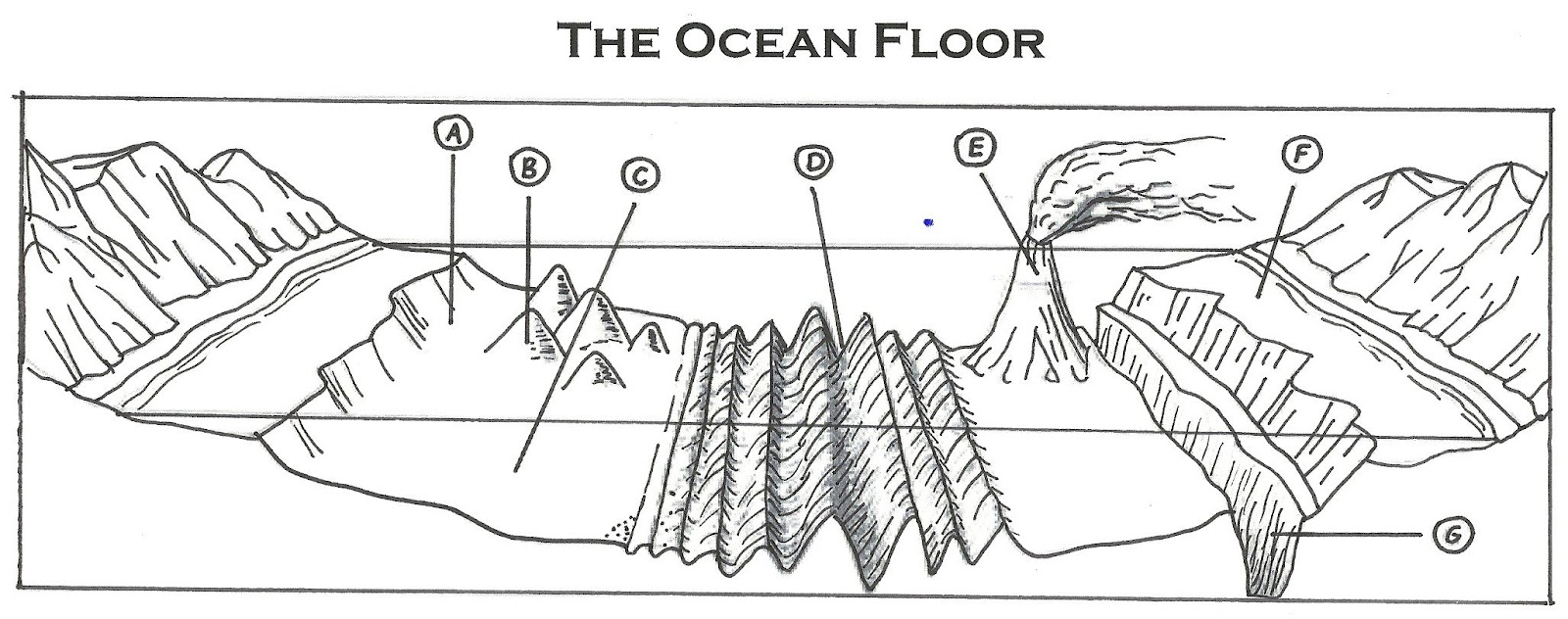 Ocean Floor Feature Review 2