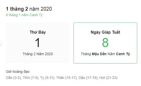 Dự đoán kết quả xsmb ngày 01/02/2020 theo phong thủy