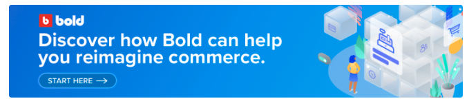 blog banner linking to Bold's headless commerce solutions
