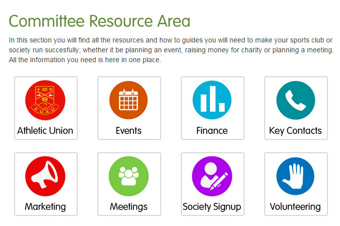 Committee Resource Area