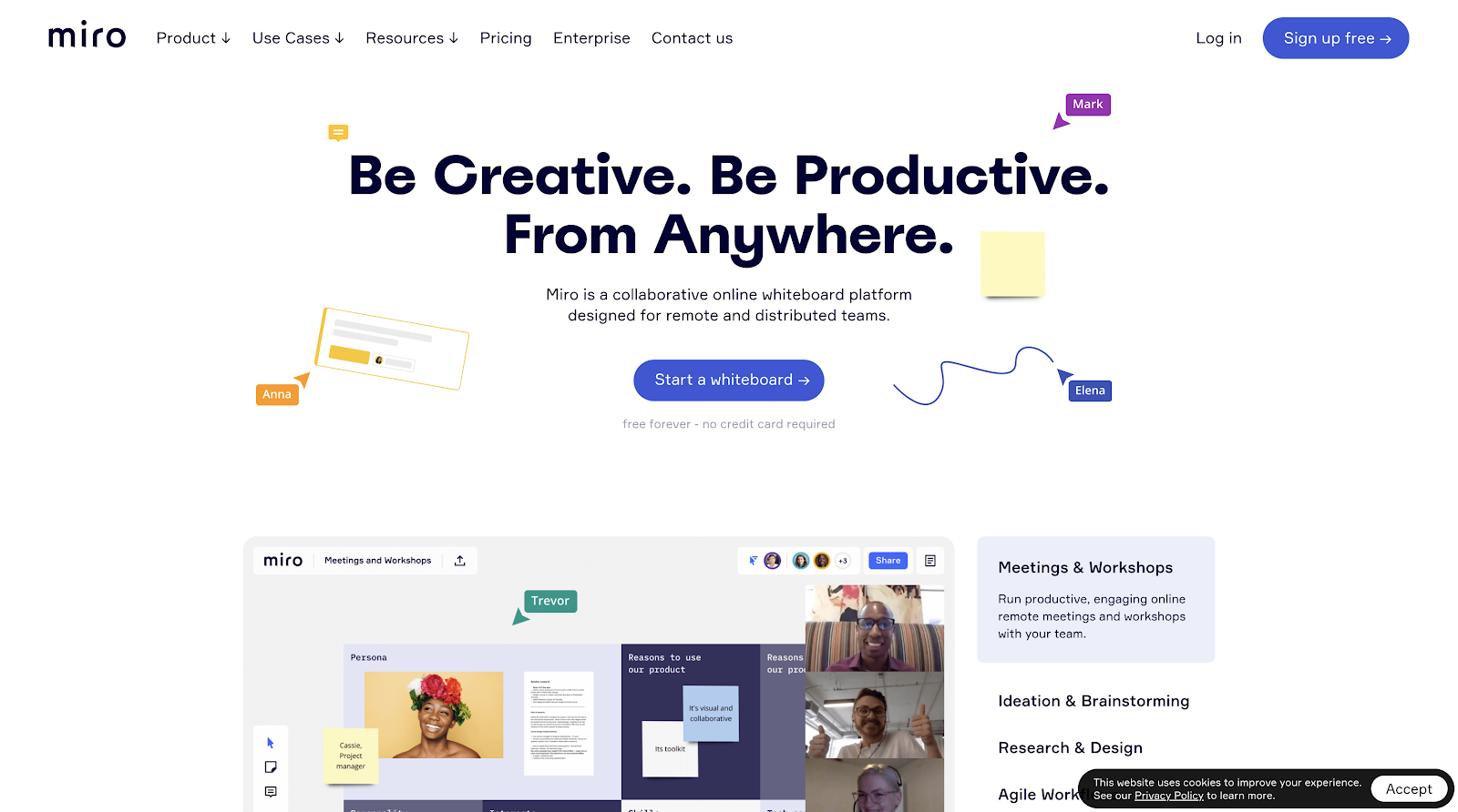 miro - Be Creative. Be Productive. From Anywhere
