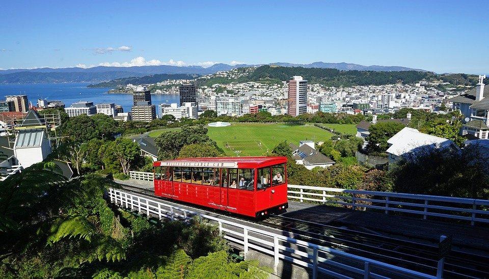 Wellington, Cable Car, New Zealand, City, North Island
