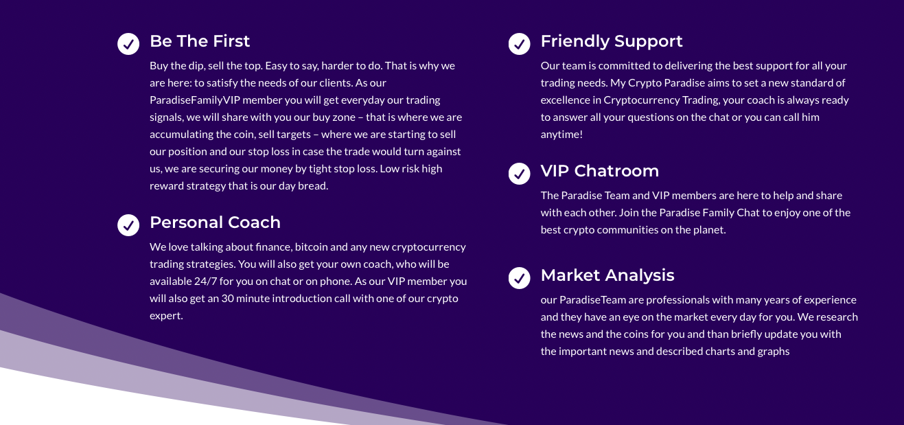 mycryptoparadise Support