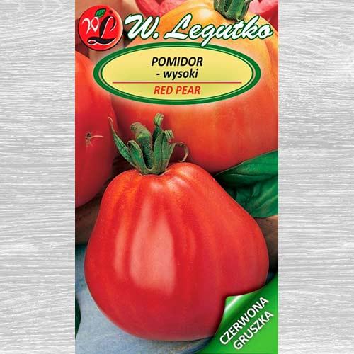 Pomidor gruntowy wysoki Red Pear obraz 1