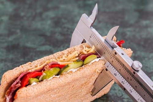 low fat sandwich