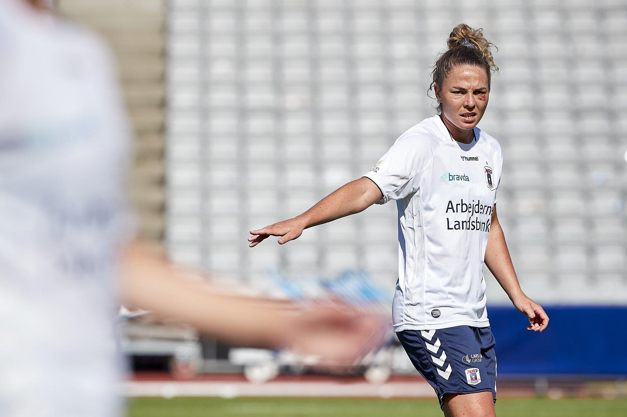 Jenna McCormick for AGF Fodbold (Source: @AGFFodbold Twitter)