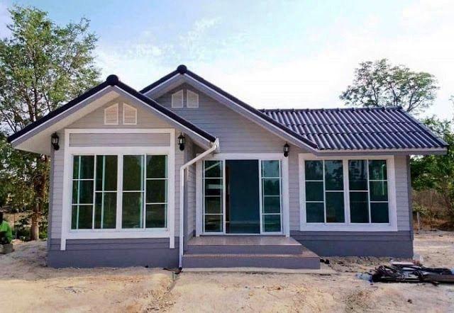 6 Macam Bentuk Rumah Sederhana Di Kampung Yang Cantik Dan Asri