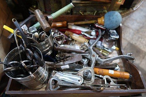 Tools, Hammer, Pliers, Bottle Opener