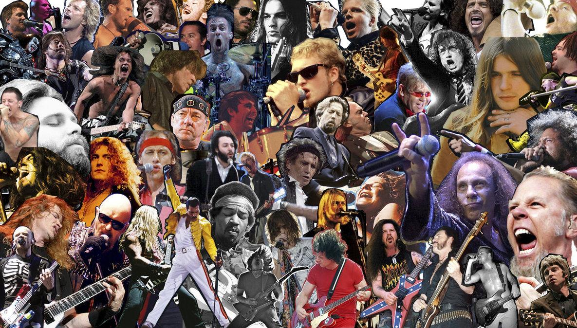 Astros do Rock n Roll - Todos os tempos