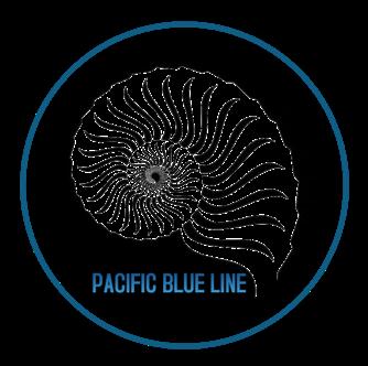 Pacific Blue Line Logo