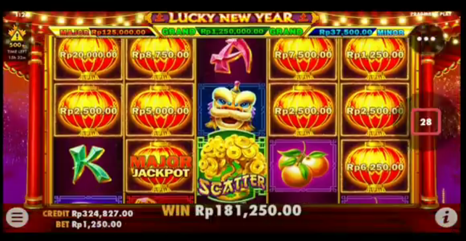 Slot Online Lucky New Year Pragmatic Play Resmi