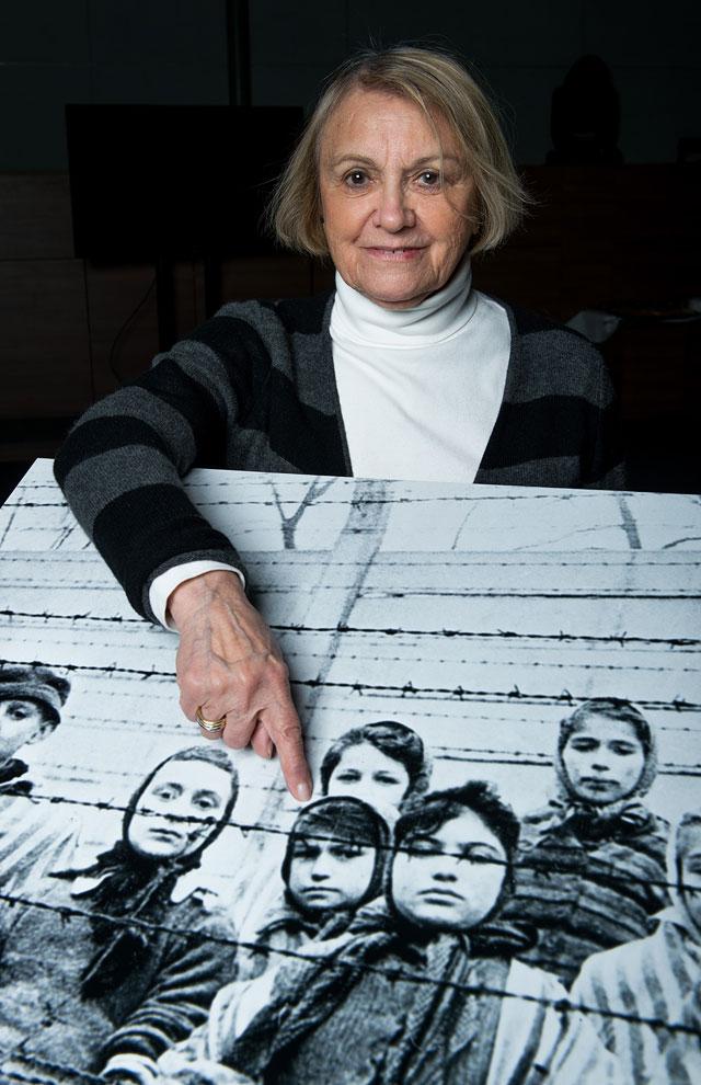 """Паула Лебович (81) бывшая узница концлагеря """"Освенцим"""""""