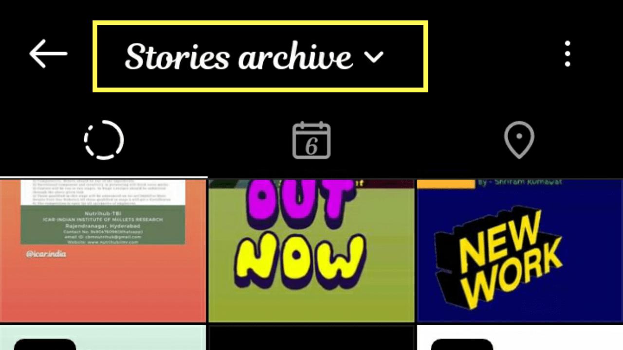 Instagram Stories Archive.