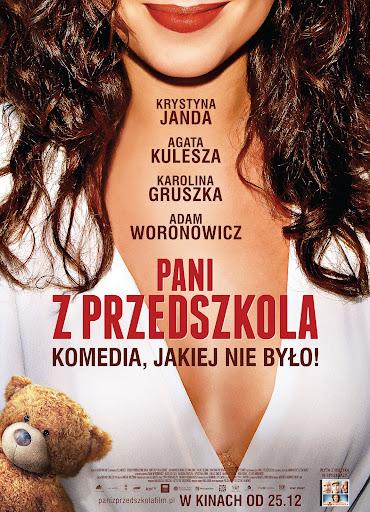 Polski plakat filmu 'Pani Z Przedszkola'