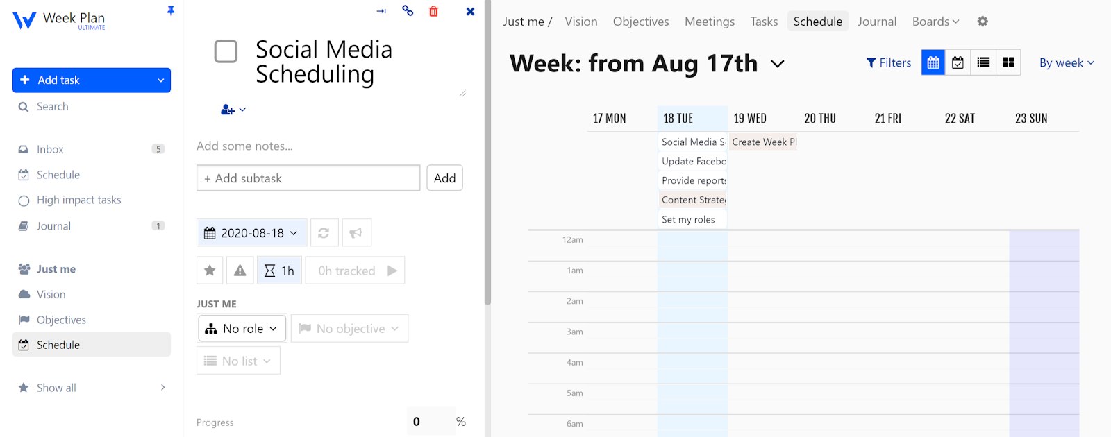 Work-Planner-Time-Tracking