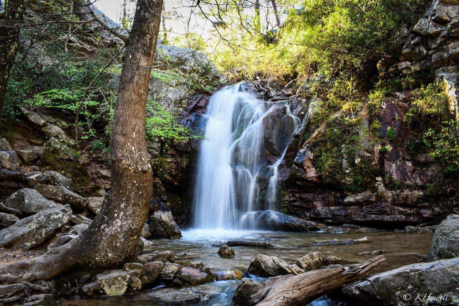 Peavine Falls at Oak Mountain State Park in Pelham, Alabama