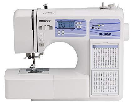 Brother HC-1850 compact sewing machine