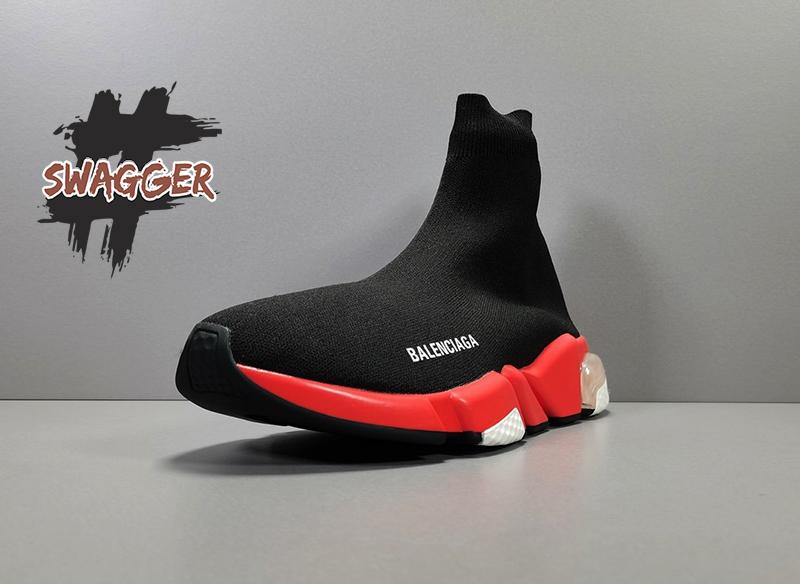 Balenciaga Speed Trainer cổ cao, không dây buộc cực kỳ khác biệt