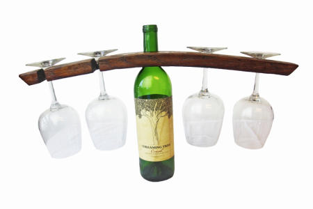 wine glass wine rack