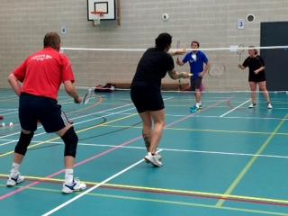 badminton classes done with 50s thame