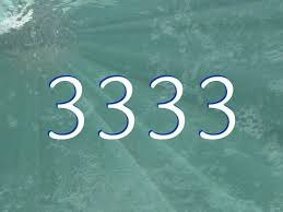 The number 3333 (meaning)