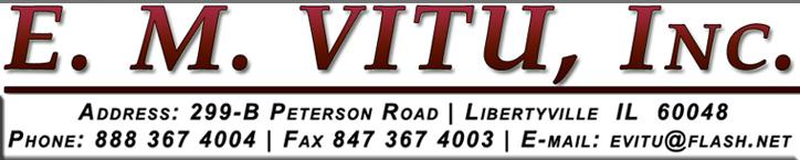 E. M. Vitu Logo