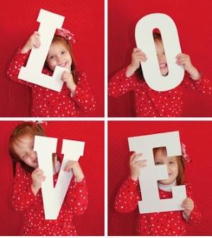 صورة عيد الحب love احتفالا بالفالنتين داي للاطفال