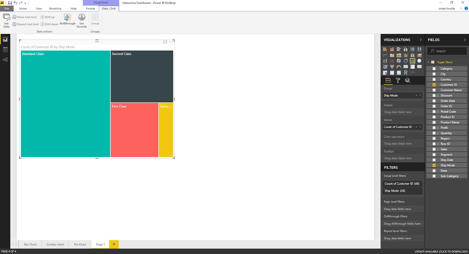 Interactive Dashboard In Microsoft Power BI 43