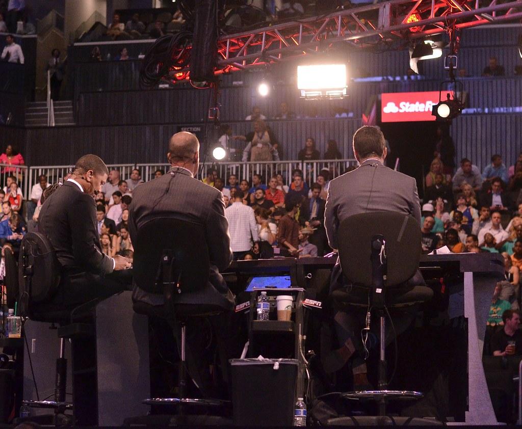 ESPN NBA Draft crew | Photo Courtesy ~ Joe Glorioso @HoopDis ...