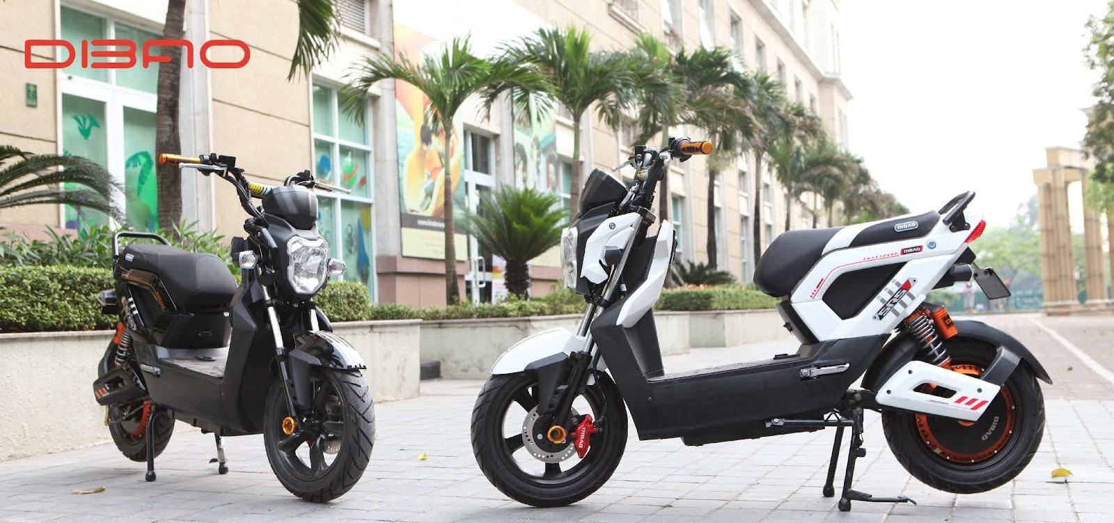 Dibao Zoomer S là mẫu xe đáng tiền