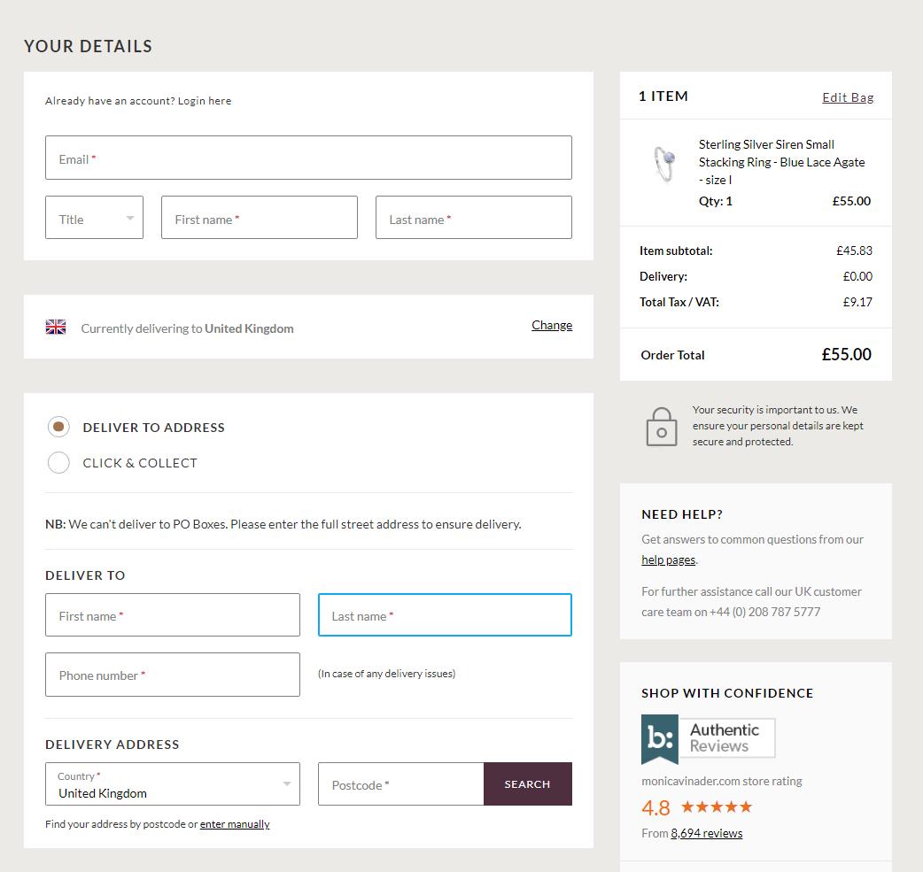 thu thập dữ liệu khách hàng khi thanh toán