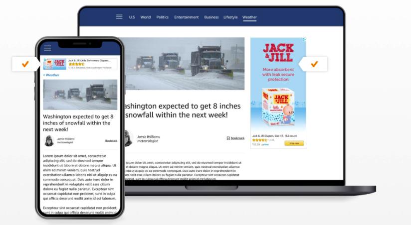 Amazon Sponsored Display Anzeigen