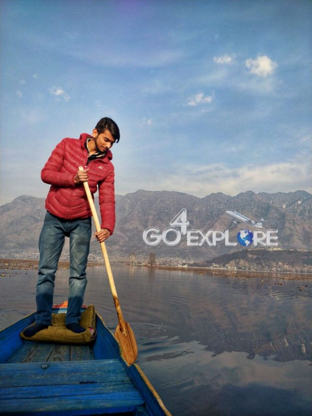 Sikara ride Dal Lake Srinagar