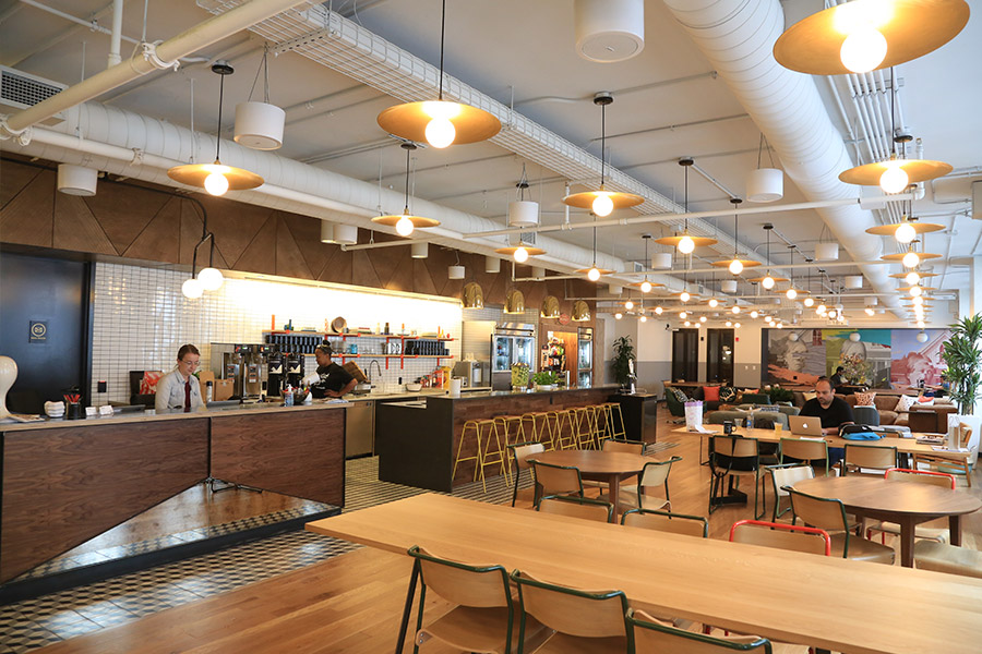 Wework National Building Coworking Spaces in Chicago