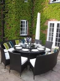 Large Round Outdoor Dining Table - Ideas on Foter