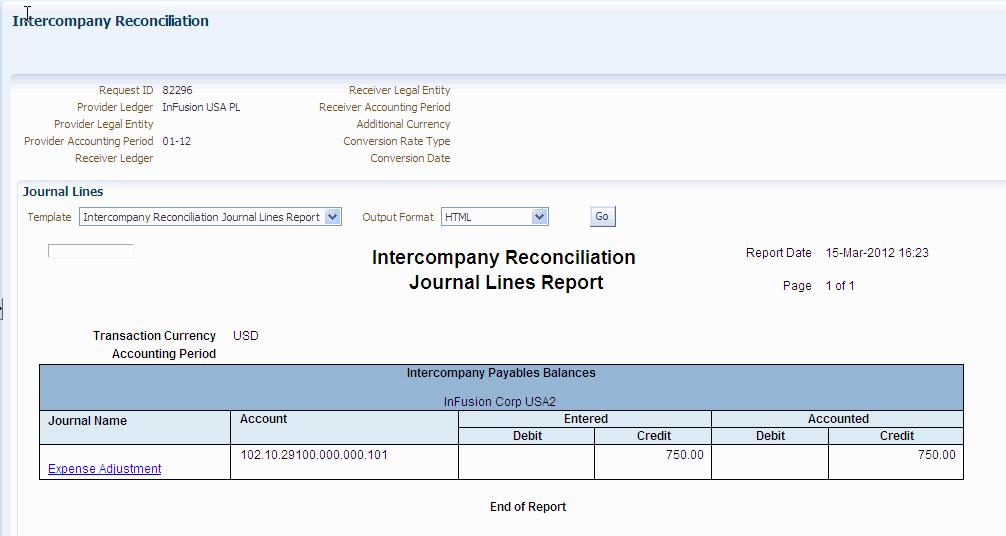 intercompany reconciliation excel template