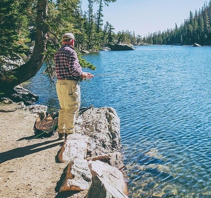 Enjoy beautiful views as you fish for Catfish at Catfish Corner!