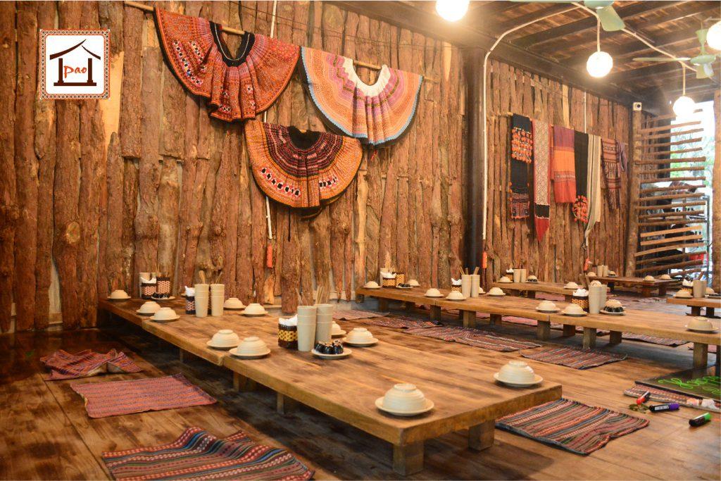Thiết kế nhà hàng đặc sản theo vùng miền