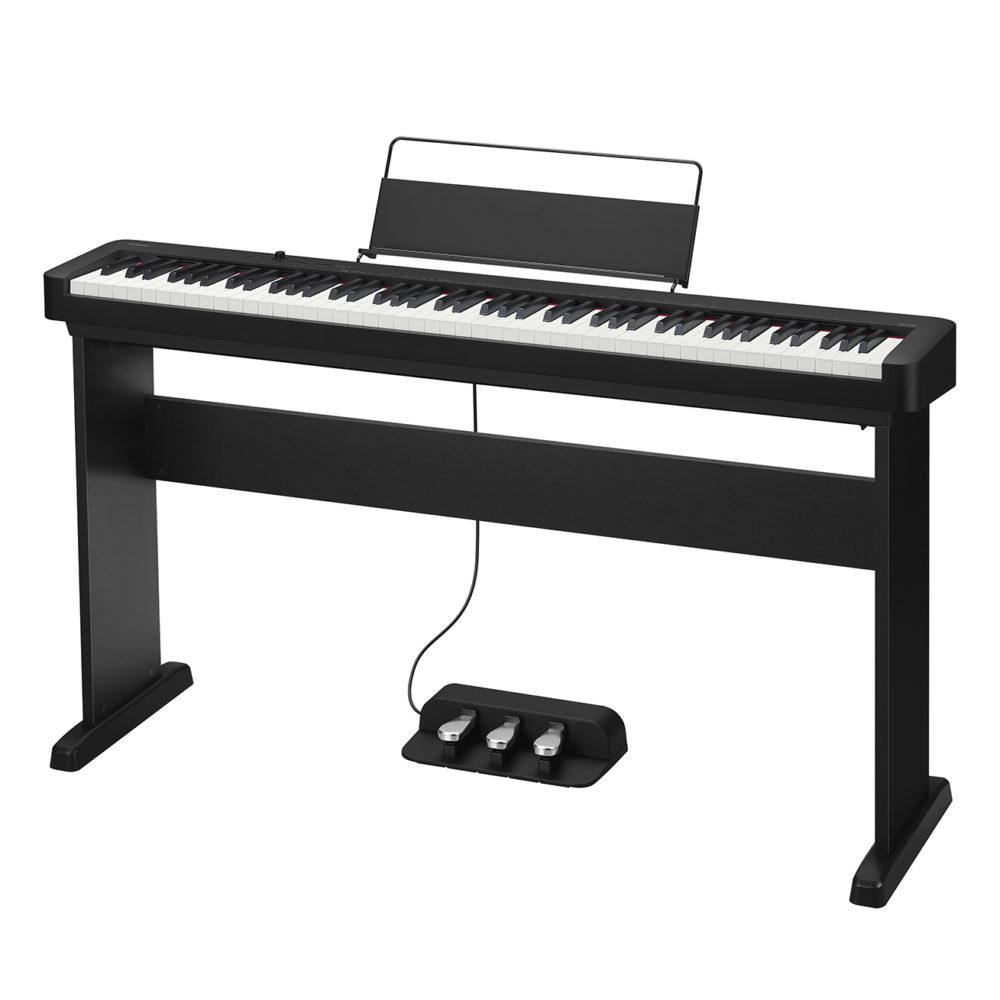 bạn còn có thể chơi CDP-S150 sử dụng với 3 pedal đầy đủ như với 1 cây acoustic piano. Pedal có một vai trò rất quan trọng trong việc chơi một bài piano có truyền cảm hay không