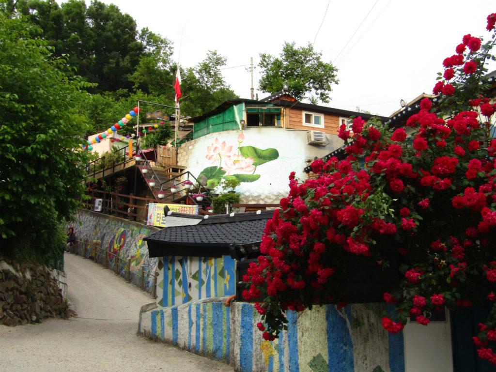 Jeonju Jamal Mural Village Korea