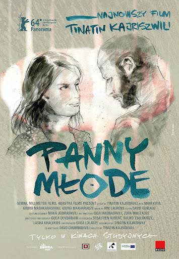 Polski plakat filmu 'Panny Młode'